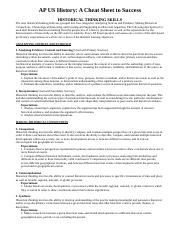 AP Cheat Sheet - Thinking Skills and Themes (1).docx