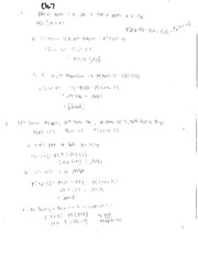 Chapter 7 Practice Problems & Examples