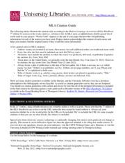 How to cite online magazine mla format