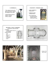 Cathedrals Lecture