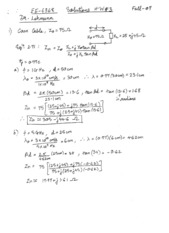 EE4368 HW Set #6 Solutions