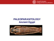 004 Paleoparasitology Ancient Egypt 2 2016.pptx