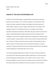 Letter From A Birmingham Jail Rhetorical Analysis Essay - image 4