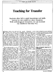 teaching%20for%20transfer