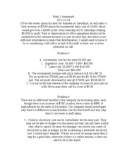 Managerial Accounting Week 1 homework
