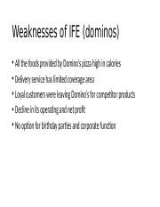 Weaknesses of IFE (dominos).pptx