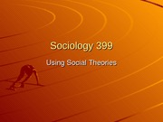 Social theories-1