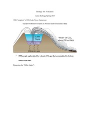 Geology 101 notes 17