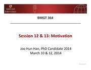 12 + 13. Motivation (I) & (II) updated by Han, J