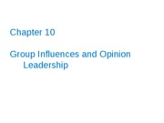 11_Group_Influences_and_Opinion_Leadership_S1