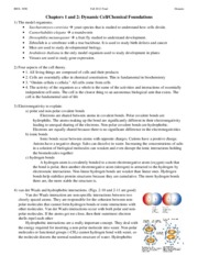 Cell Biology Final Study Guide