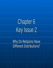 Chapter 6 Key Issue 2