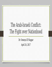 5-The Arab-Israeli Conflict.pptx
