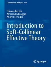 LNP0896 Thomas Becher, Alessandro Broggio, Andrea Ferroglia (auth.) - Introduction to Soft-Collinear