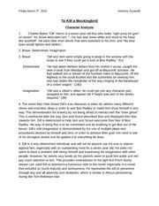 essay assignments kill mockingbird Essay about to kill a mockingbird - calpurnia cares essay on to kill a mockingbird and literary/historical essay assignment to kill a mockingbird.