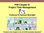 PMI-Chapter6--Project_Time_Management