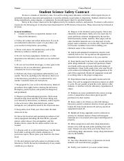 Detailed Student Science Safety Contract 2013-14 (1).docx