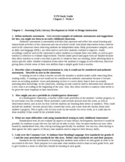 Ch 2-Assessing Early Literacy Development in Order to Design Instruction