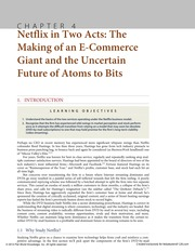 Chapter 4 Netflix in Two Acts The Making of an E-Commerce Giant and the Uncertain Future of Atoms to