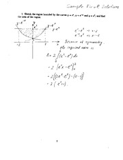 sample final solutions