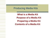 Week5 Producing Media Kits