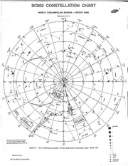 North Circumpolar Constellation  Chart