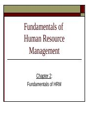 Chapter 2 Fundamentals of HRM.ppt