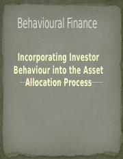 #3 - Incorporating Investor Behavior into the Asset Allocation Process.pptx