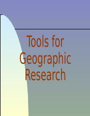 Lecture2A_Tools for Geographers(1)