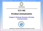 Wireless Communications Chapter6