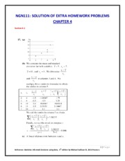 Ch4-NGN111  EXTRA HOMEWORK PROBLEMS