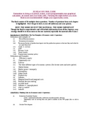 econ 222 principles of macroeconomics university of south rh coursehero com macroeconomics final exam study guide dr dove Final Exam Study Guide Ideas