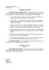Affidavit of discrepancy josielyn first name first name in the affidavit of discrepancy josielyn first name first name in the above mentioned baptismal certificate 5 also i am executing this affidavit to yadclub Image collections