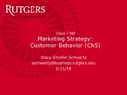 Class 7 -Ch5 - Consumer Behavior(1)
