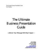 GUIDE_The Ultimate Business Presentation