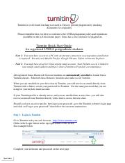 2018+TURNITIN+UNISA+Student+Guide pdf - Turnitin is a web