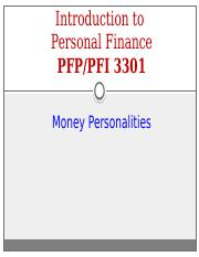 Class 2 - Money Personalities (Fall & Spring)(2016)(SS)
