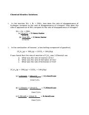 Chemical+Kinetics+Solutions.docx