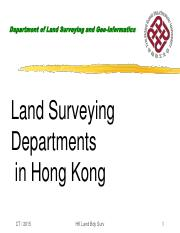 7 survey department & boundary survey regulation