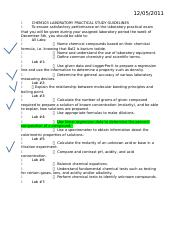 CHEM103 LABORATORY PRACTICAL STUDY GUIDELINES.docx