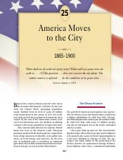 chapter 25 america moves to the city