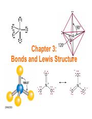 Ch3-Bonds and Lewis structure