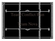 group team conflict plan
