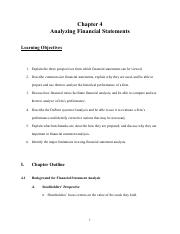 Chapter 4 Analyzing Financial Statements (Doc)-2
