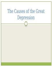 Causes of the Great Depression.pptx
