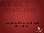 5. Discounted Cash Flow Model