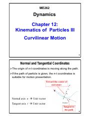 Chapter 12 - Kinematics of Particles III_V01