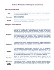 Article Analysis Guidelines(1)
