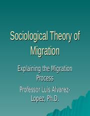 Sociological Theory of Migration.ppt