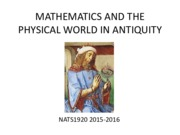 MATHEMATICS AND THE PHYSICAL WORLD IN ANTIQUITY.pdf